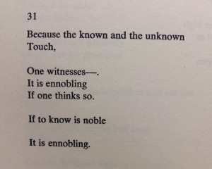 "Oppen, ""Of Being Numerous"""