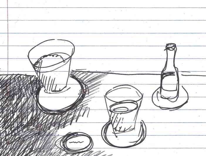 """""""Embargo."""" Doodle by me."""