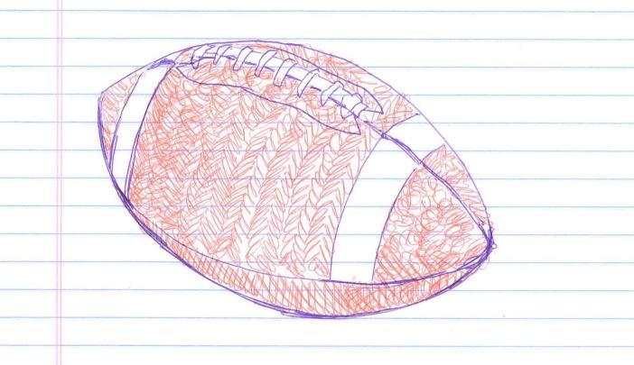 """""""Hawk & Patriot."""" Doodle by @andrescalo."""