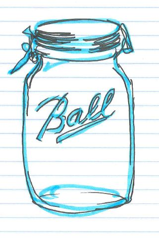 """Jar."" Doodle by @andrescalo."