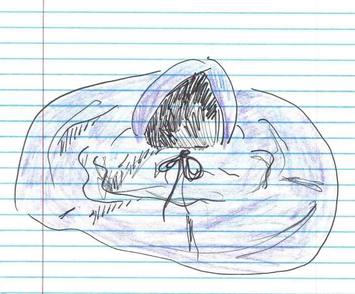 """""""Escape."""" Doodle by me."""