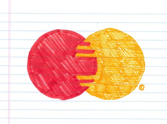 "For everything else, there's debt. ""Debt."" Doodle by @andrescalo."
