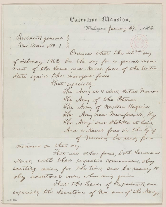 Lincoln executive order 1.jpg